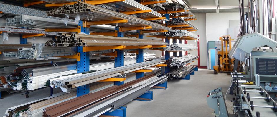 infissi serramenti in alluminio - fabbrica